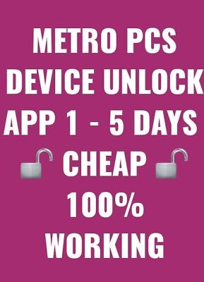 Metro PCS Android App Device Unlock