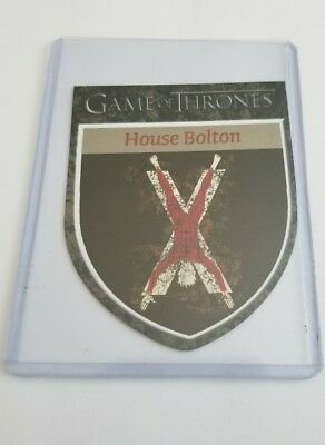 2016 Rittenhouse Game of Thrones Season 5 The Houses #H12 House Bolton Card 2f0