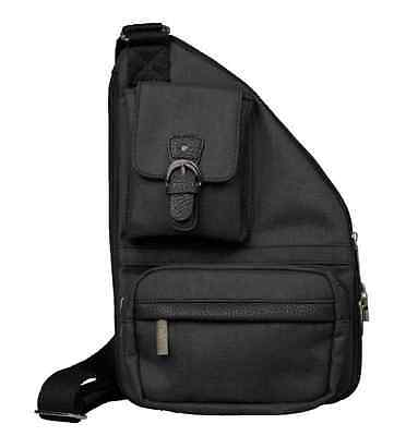 The Sacs Collection By Annette Ferber Mens Mini Metro Expandable Crossbody Bag