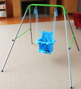 Indoor Outdoor Portable Baby Toddler Swing SET Baby KID ...