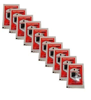 Puly Espresso Coffee Machine Cleaner Descaler - Gaggia, Bosch, 10 sachets