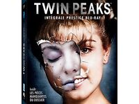 TWIN PEAKS BLU RAY ALL SEASONS + FEATURE TWIN PEAK FILM + SPECIAL FEATURES