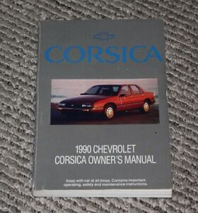 1990 Chevy Corsica Owners Manual
