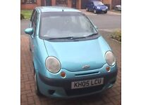 Chevrolet Matiz 1 litre (998cc) petrol manual