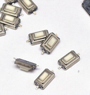 100pcs 362.5mm Tactile Push Button Switch Tact Switch Micro Switch 2-pin Smd