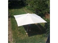 Barlow Tyrie Napoli Garden Outdoor 3.5 Metre Parasol Rrp £1500