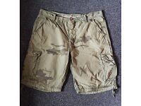 Combat shorts waist 36