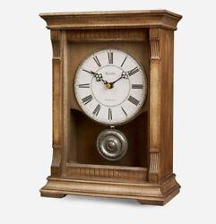 BULOVA MANTEL CLOCK - WARWICK III - CLOCK,   B7663