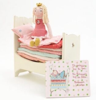 Maileg Princess & The Pea Bed + Book Coorparoo Brisbane South East Preview