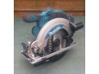 Makita 18v Power Saw/Circular Saw