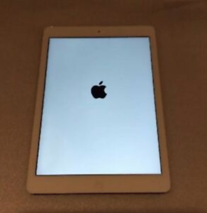 iPad Air - 64 GB. White Refurbished. 9.7 inch. + case + charger.