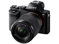 WANTED Sony Alpha A7 bundle