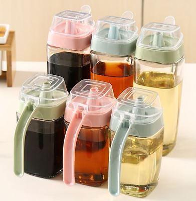 US-Olive Oil Dispenser Pot Sauce Vinegar Bottle Gravy Boat Cooking Kitchen Tool