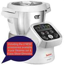 TEFAL Cuisine Companion EXTRA's w Steamer and Slicer Accessories St Albans Park Geelong City Preview