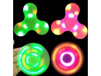 Fidget Spinner with Bluetooth Speaker & LED