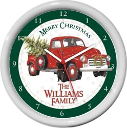 10 Personalized Christmas Tree Pick up  Truck Holiday Gift Xmas
