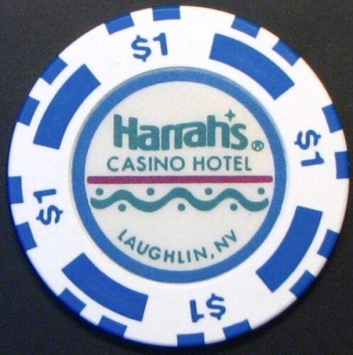$1 Casino chip, Harrahs, Laughlin, NV. N35.