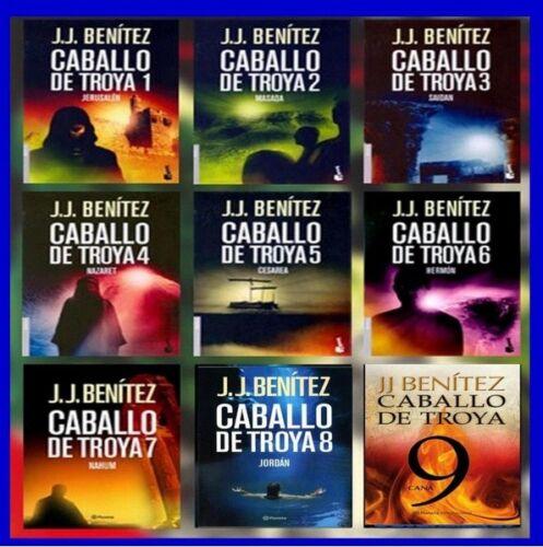 Ebooks(PDF)SAGA COMPLETA DE CABALLO DE TROYA  DE JJ BENITEZ