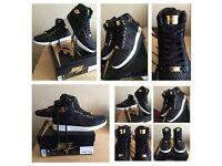 Nike Air Jordan 1 Pinnacle Black 24Gold Plated UK8 & U7.5 100%Authentic LIMITED