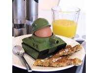 Egg-splode! Egg cup and toast cutter