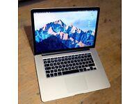 15.4 Retina MacBook Pro, Late 2013, 2.3 i7, 512Gb SSD, 16Gb RAM, Semi-New Logic board & Screen