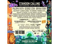 Standon Calling Friday Day ticket only. 1 x adult £50.