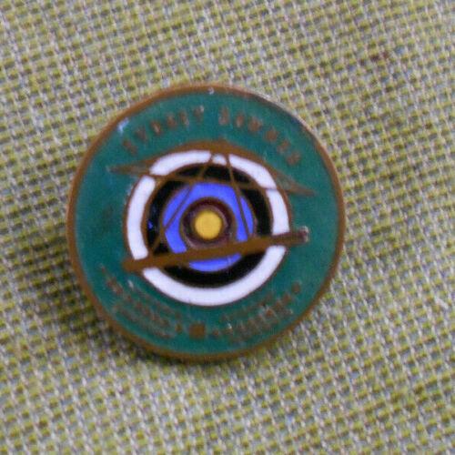 #D436.  AUSTRALIAN  ARCHERY ENAMEL  BADGE - SYDNEY BOWMEN