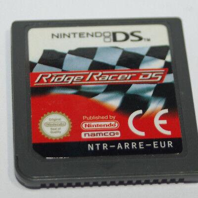 Jeu vidéo cartouche seule Ridge Racer DS nintendo DS compatible 3DS