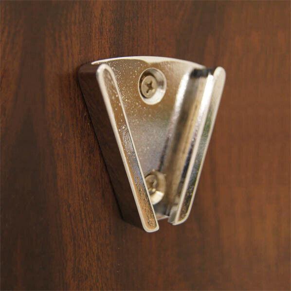 "Wall Bracket for 8"" Chrome Bell (Weems & Plath 2106CW)"