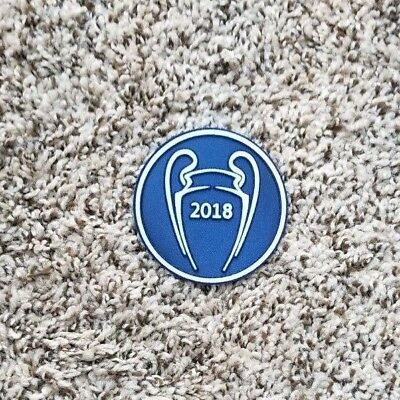 (2018 UEFA CHAMPIONS LEAGUE Real Madrid  Ronaldo Bale Benzema patch)