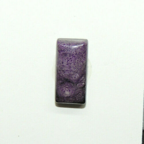 Sugilite Cabochon 17.5x8.5mm with 5mm dome from South Africa  (15018)