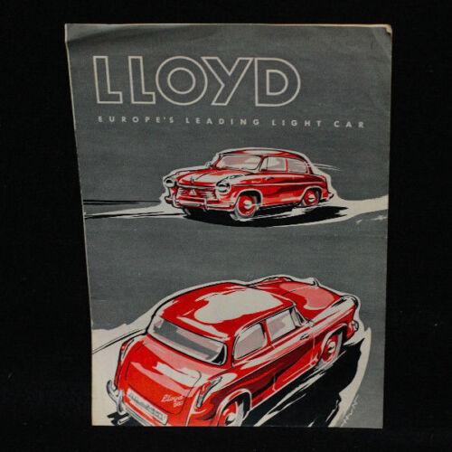 Original Lloyd 600 Sales Brochure