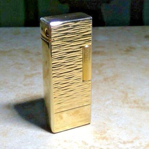 New Colibri Artisan Gold Elite wave Collection Flint Lighter Vintage 70