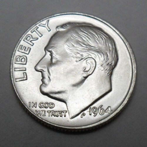 1964 P ROOSEVELT DIME  *BU - BRILLIANT UNCIRCULATED*  **FREE SHIPPING**