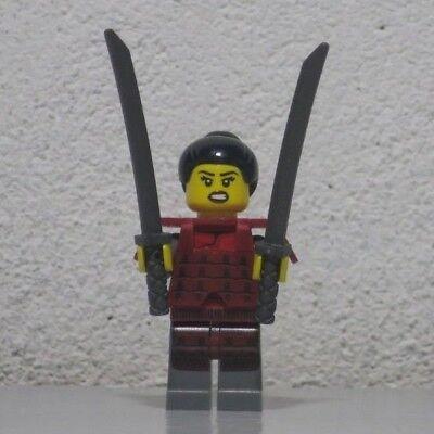 Lego Blue Ninja Minifigure Silver Armour  2 Samurai Ninjago Xmas Stocking Filler