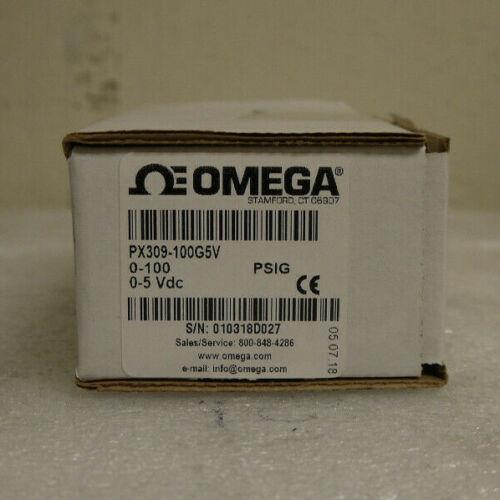 OMEGA Pressure Transducer PX309-100G5V 0-100 / 0-5 Vdc