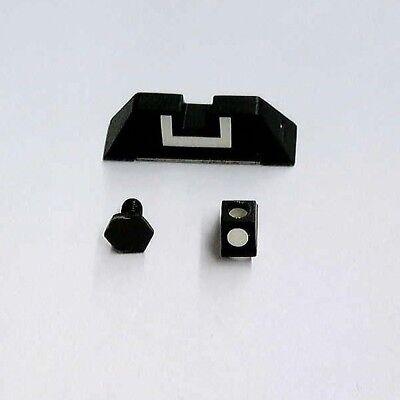 Glock OEM Factory 7.3mm Polymer Front & Rear Sights SP00210, -