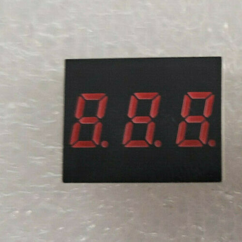 5 PC ROHM Semiconductor LB-203VB High efficiency three-digit numeric display red