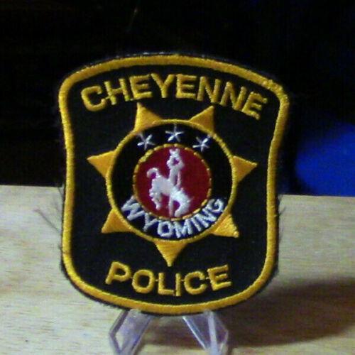Patch Retired: Cheyenne Wyoming Police Mini Patch