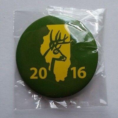 2016 Illinois Deer Harvest Pin Set Firearm /& Archery Season NEW #163