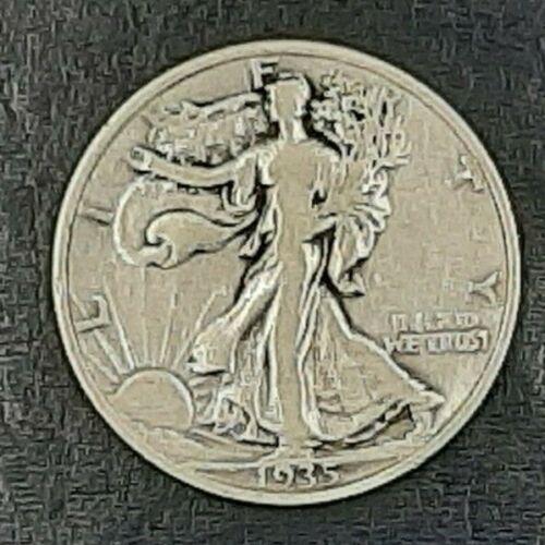 WALKING LIBERTY HALF DOLLARS AVERAGE CIRCULATED COINS