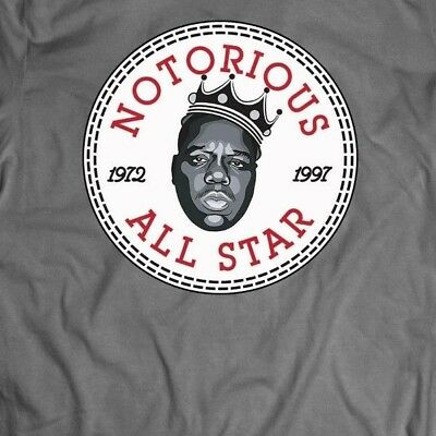 NOTORIOUS BIG ALL STAR ATHLETIC WEAR ***OLD SKOOL*** Mens T-Shirt *MANY (All Star Mens T-shirt)
