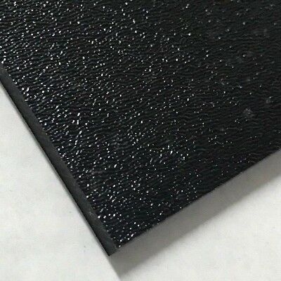 """ABS Black Plastic Sheet 0.25"""" - 1/4"""" You Pick The Size Vacuum Forming RC (0.25 Sheet)"""