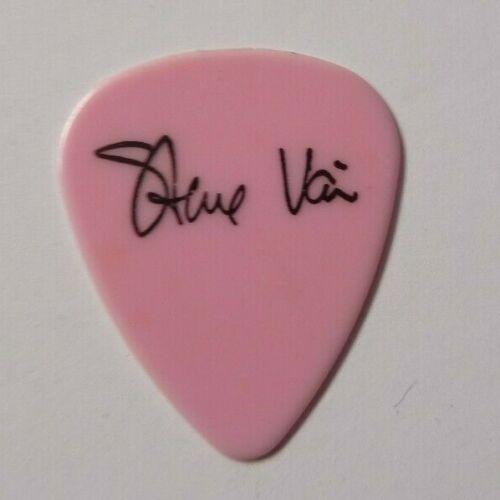 STEVE VAI DAVID LEE ROTH SKY SCRAPER 1988 TOUR ISSUED GUITAR PICK PINK ERROR