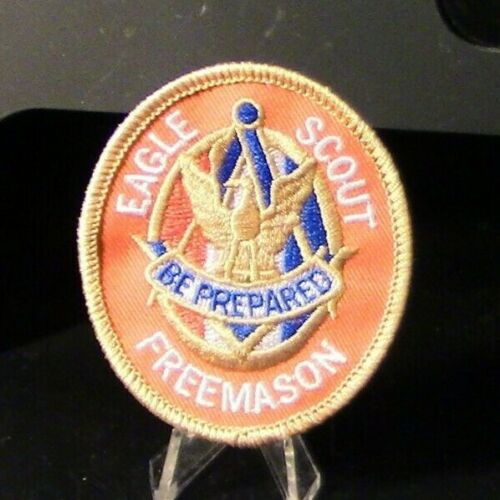 Thin Blue Line-Freemason (Eagle Scout) Private Issue Patch