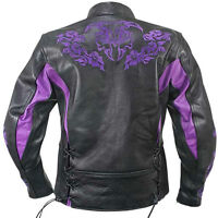 Ladies Screaming Eagle Leather Jacket