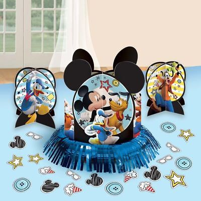 NEW Mickey Mouse Table Decorations Centerpieces Plus Confetti Birthday Supplies~ - Mickey Mouse Centerpieces
