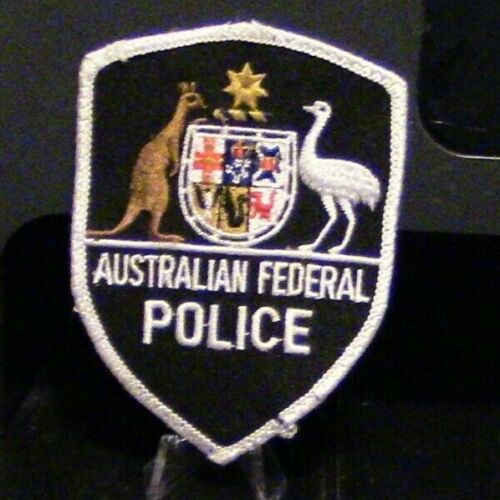 Patch Retired:  Australian Federal Police Patch