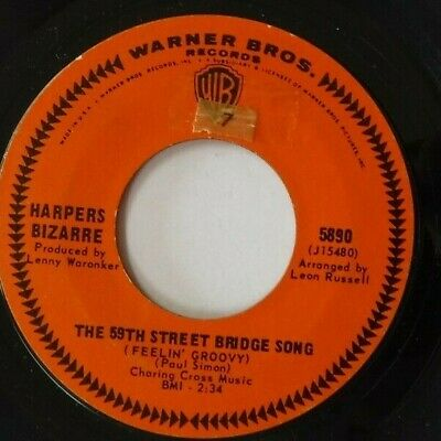 - Harpers Bizarre - The 59th Street Bridge Song / Lost My Love Today / 5890 / 45