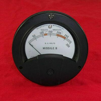 Roller-smith Dc Volts Analog Panel Meter Type Tdhrg N.51420